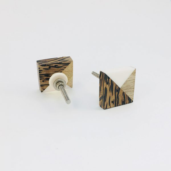 tangram wood and resin knob 4 600x600 - Tangram Wood and Resin Knob