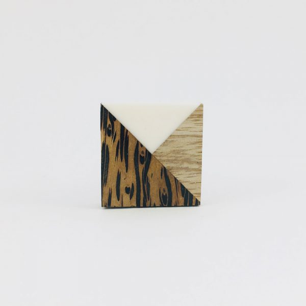 tangram wood and resin knob 6 600x600 - Tangram Wood and Resin Knob