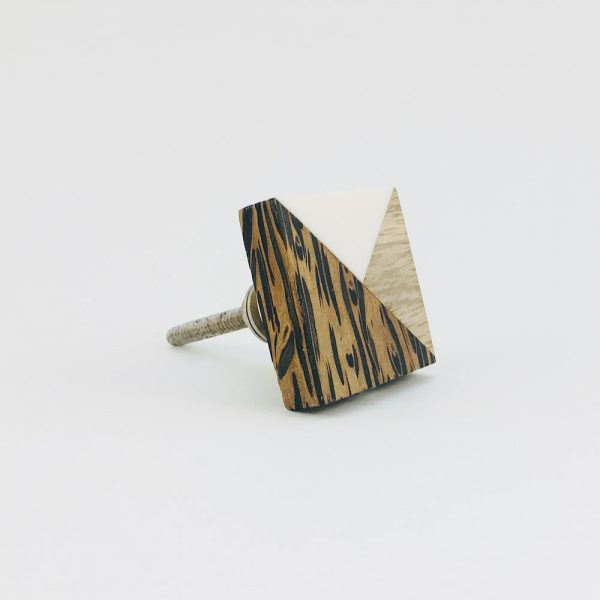 tangram wood and resin knob 7 600x600 - Tangram Wood and Resin Knob