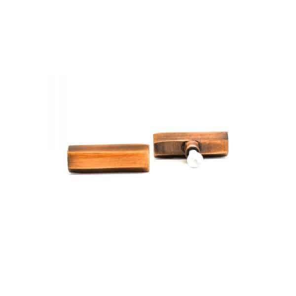 Copper Hexagon T-Bar Pull