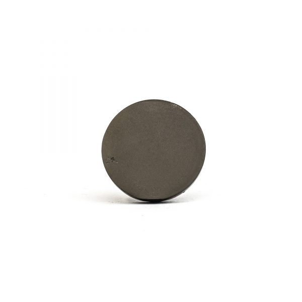 Charcoal Circle Iron Knob