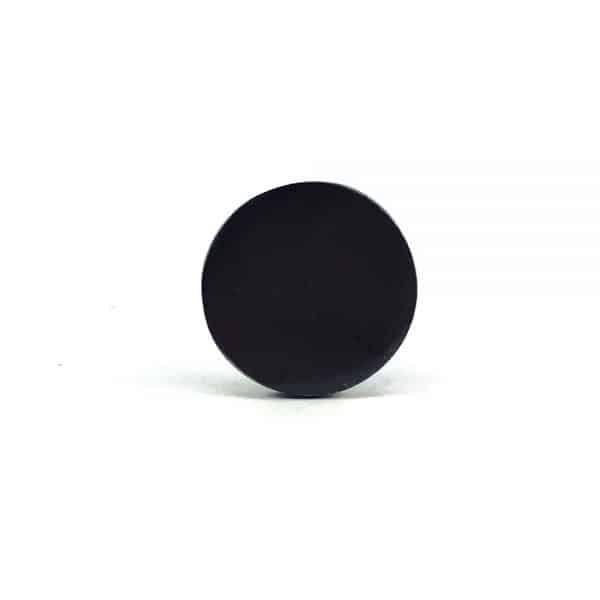 black iron circle knob 6 600x600 - Charcoal Circle Iron Knob