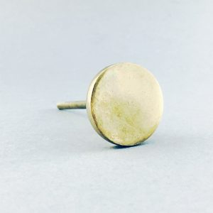 Polished Gold Circle Iron Knob