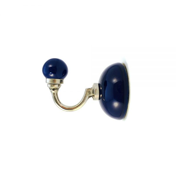 royal blue ceramic wall hook 4 600x600 - Royal Blue Ceramic Wall Hook