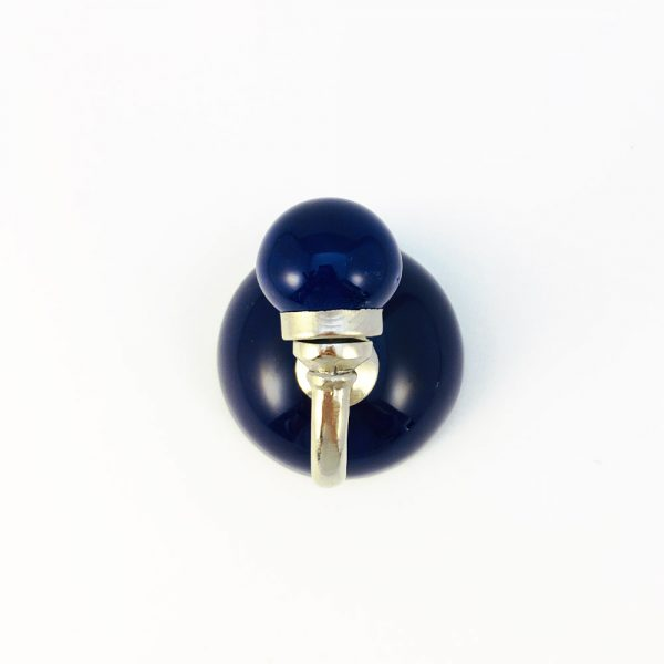 royal blue ceramic wall hook 600x600 - Royal Blue Ceramic Wall Hook