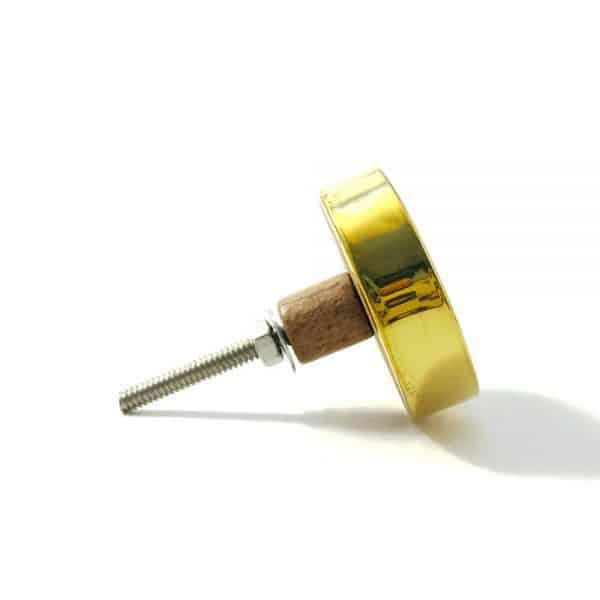 gold flower outline knob 5 600x600 - Gold Flower Outline Knob
