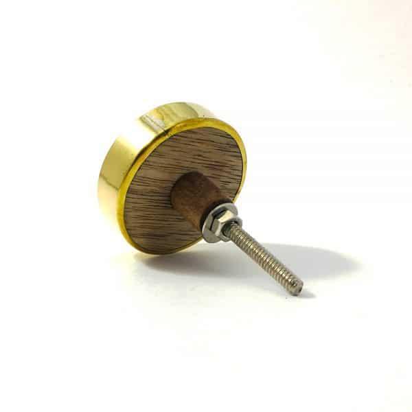 gold flower outline knob 7 600x600 - Gold Flower Outline Knob