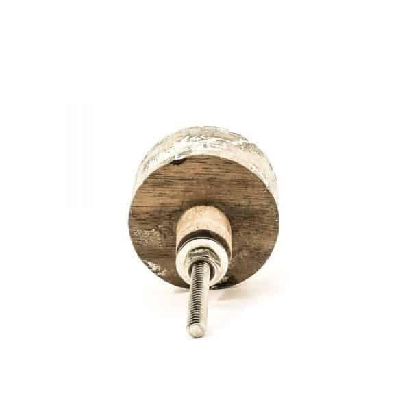 Round Natural Wood Knob