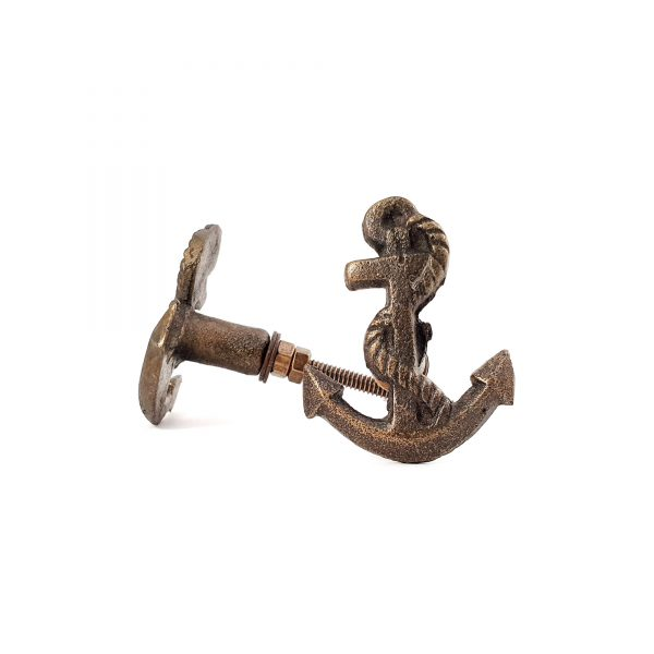 Antique Gold Anchor knob 1 600x600 - Anchor Knob