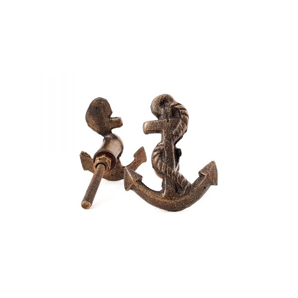 Antique Gold Anchor knob 2 600x600 - Anchor Knob