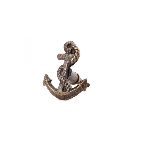 Antique Gold Anchor knob 8 600x600 - Anchor Knob