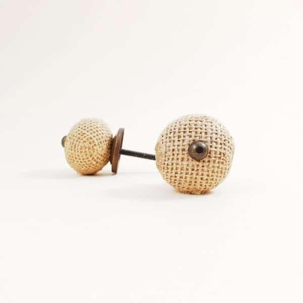 Button jute knob 3 600x600 - Button Jute Knob