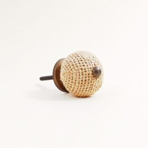 Button jute knob 5 300x300 - Shop for Cabinet Handles, Cabinet Pulls & Wall Hooks