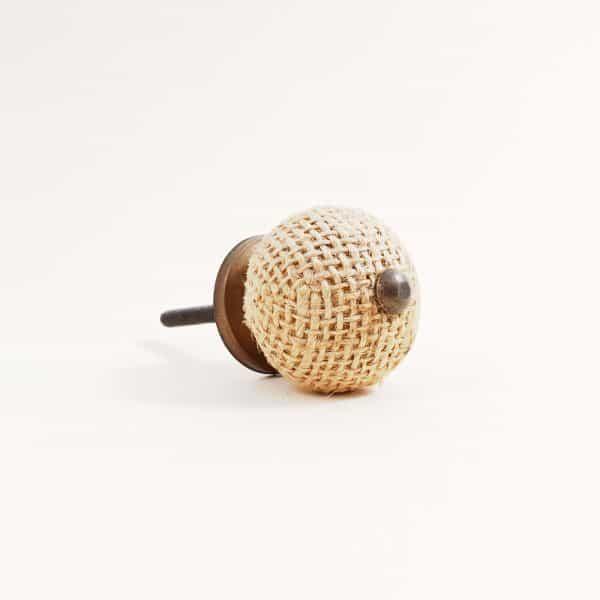 Button jute knob 5 600x600 - Button Jute Knob