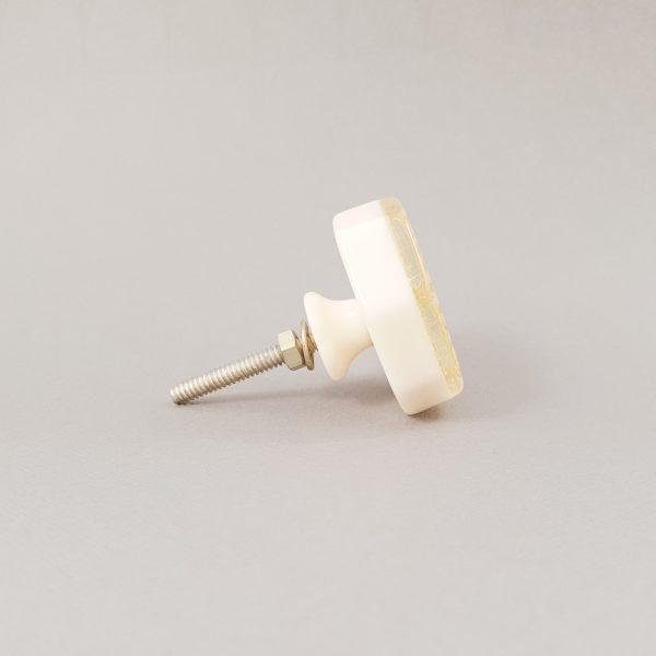 Lyerbird knob 6 600x600 - Gold Lyrebird Knob