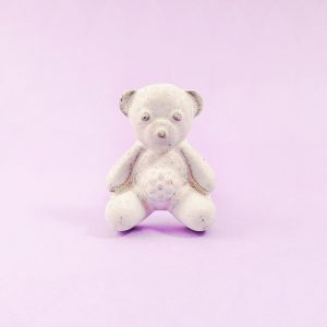 White iron teddy knob 5 300x300 - White Teddy Bear Knob