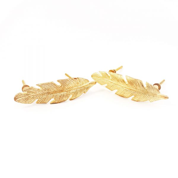 leaf handle 13 600x600 - Gold Feather Handle