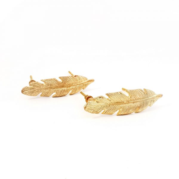 leaf handle 15 600x600 - Gold Feather Handle