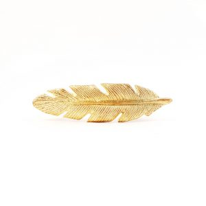 leaf handle 17 300x300 - Gold Feather Handle