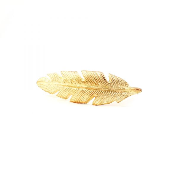 leaf handle 21 600x600 - Gold Feather Handle
