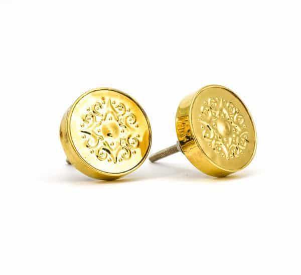 DSC 0168 Gold Pressed Metal Knob 600x548 - Gold Pressed Metal Knob