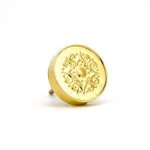 DSC 0171 Gold Pressed Metal Knob 300x300 - Gold Pressed Metal Knob