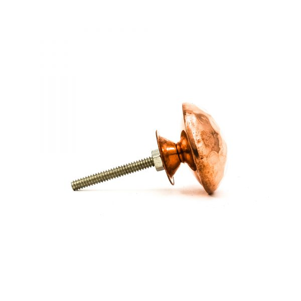 Copper Hammered Knob