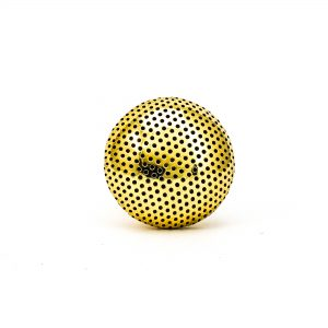 Gold Dotted Knob