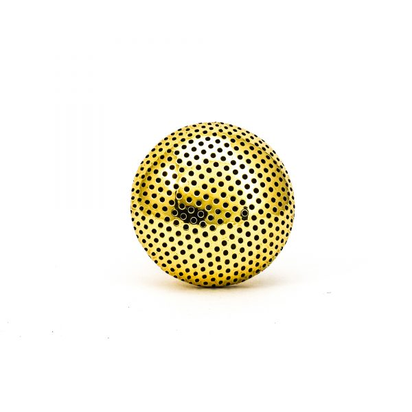 DSC 0251 Gold dotted knob 600x600 - Gold Dotted Knob