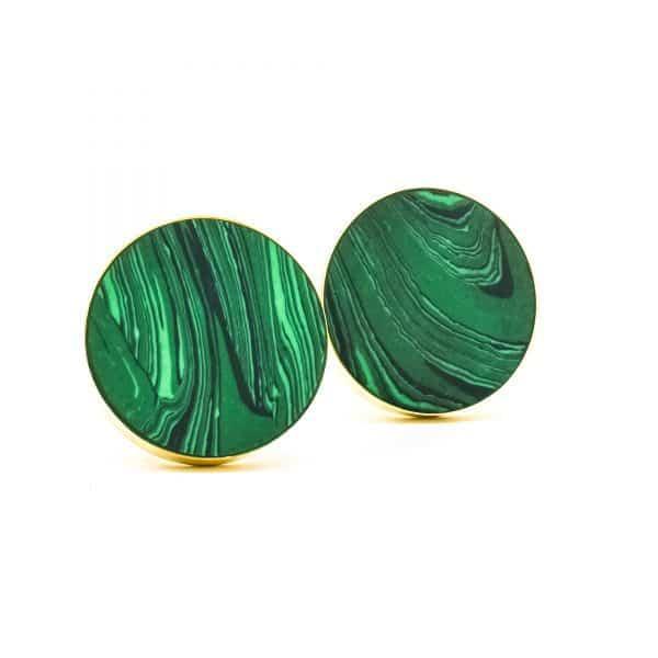 DSC 0388 Green Malachite Inspired knob 600x600 - Green Malachite Inspired knob