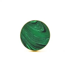DSC 0392 Green Malachite Inspired knob 300x300 - Green Malachite Inspired knob