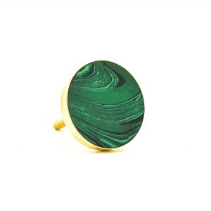 DSC 0393 Green Malachite Inspired knob 300x300 - Green Malachite Inspired knob