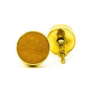 Sandstone Brass Knob