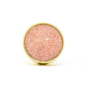 DSC 0758 Round brass edge and white stone knob 300x300 - Dessert Pink Stone Brass Knob