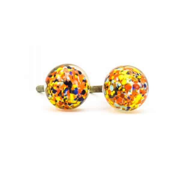 DSC 0807 Multicoloured glass ball knob 600x600 - Mulitcoloured Glass Ball Knob