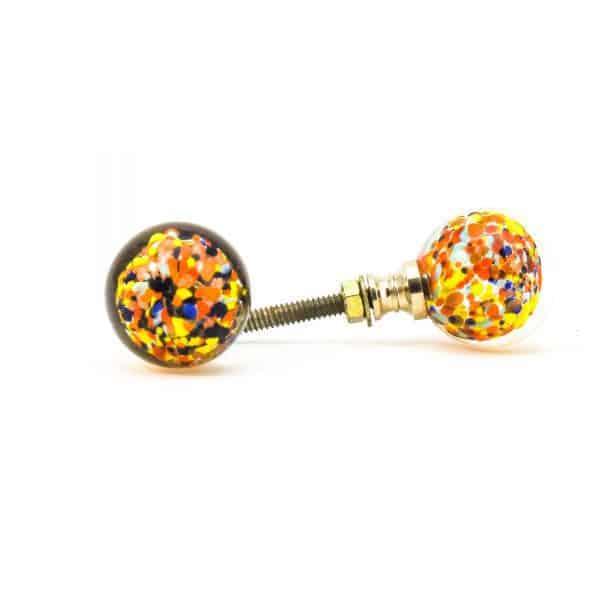 DSC 0808 Multicoloured glass ball knob 600x600 - Mulitcoloured Glass Ball Knob