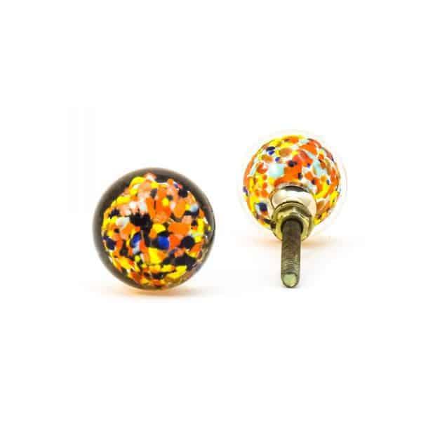 DSC 0809 Multicoloured glass ball knob 600x600 - Mulitcoloured Glass Ball Knob