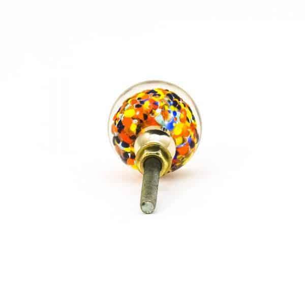 DSC 0813 Multicoloured glass ball knob 600x600 - Mulitcoloured Glass Ball Knob
