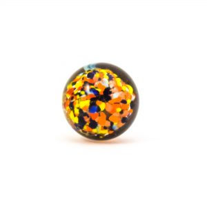 DSC 0814 Multicoloured glass ball knob 300x300 - Mulitcoloured Glass Ball Knob
