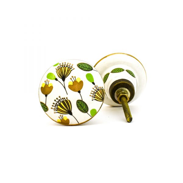 Leaf and Bloom Knob,