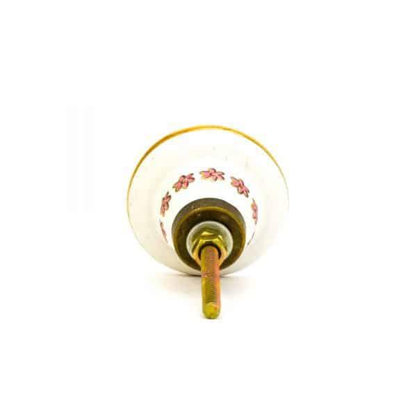 DSC 0150Pink detail bird knob 600x600 - Fairywren and Blossom Knob