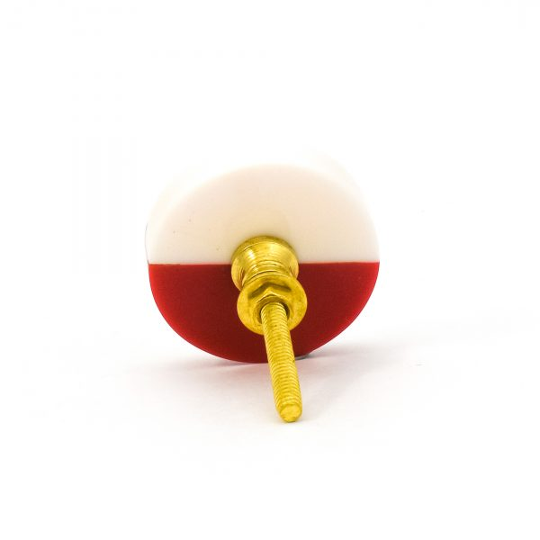Two Tone Red Splicer Knob