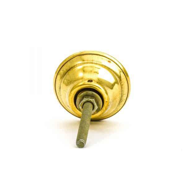 DSC 1003 Round brass 600x600 - Green Shell Brass Knob