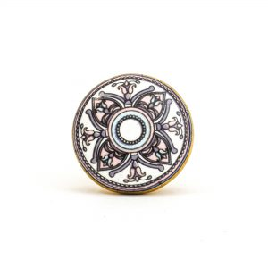 Pastel Floral Mandala Knob