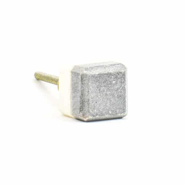 DSC 1119 Two toned w 1 600x600 - Grey Two-Tone Cubed Knob