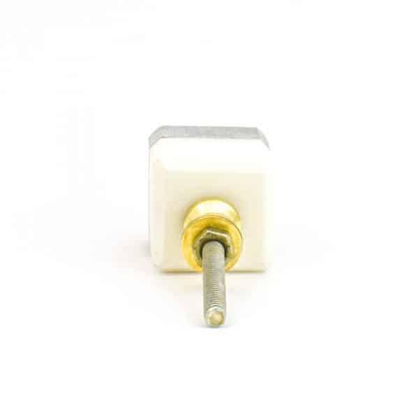 DSC 1121 Two toned w 1 600x600 - Grey Two-Tone Cubed Knob