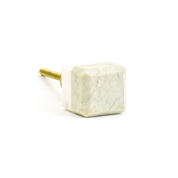 DSC 1133 Two toned w 1 600x600 - Light Green Two-Tone Cubed Knob