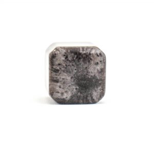Metallic Cola Resin Cube Knob