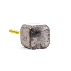 DSC 1141 Dark Grey R 300x300 - Metallic Cola Resin Cube Knob