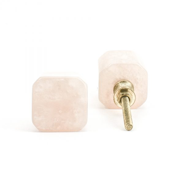 Pearl Resin Cube Knob